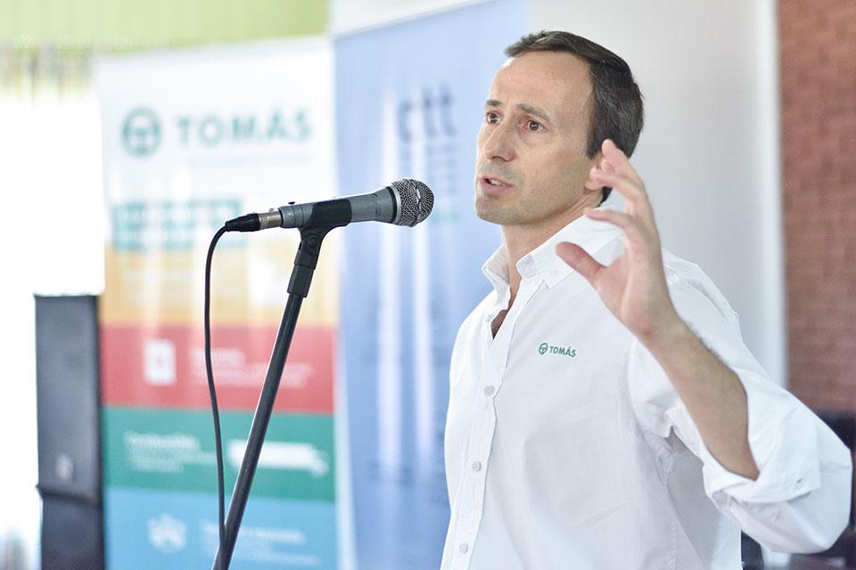 Sergio Degenhardt, líder Agrotecnología Aplicada Tomás